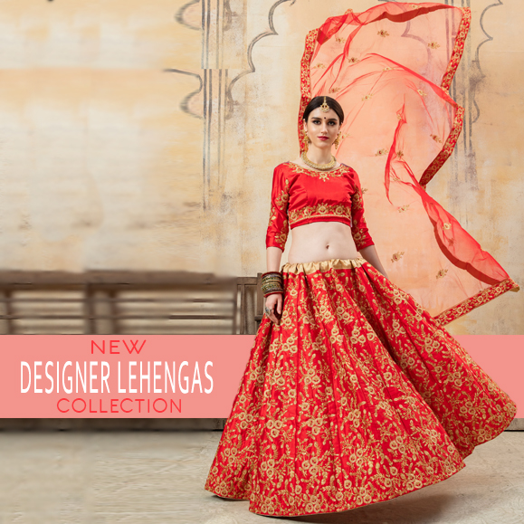 Designer Lehengas Collection UK