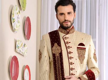 Designer Wedding Wear Sherwani Collection