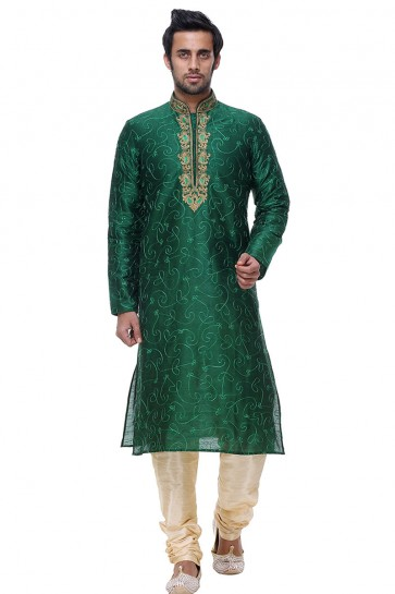 Pretty Green All Function Wear Designer Kurta Pajama