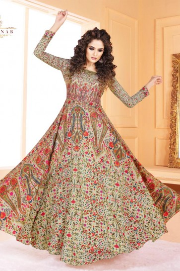Gorgeous Multi Color Printed Salwar Suit