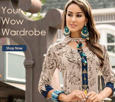 Party Wear Wow Wardrobe Kurti Collection