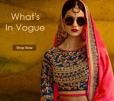 What's In Vogue.. Wedding Saree Collection