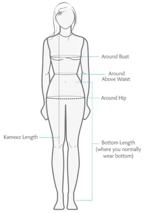 lehenga-measurement