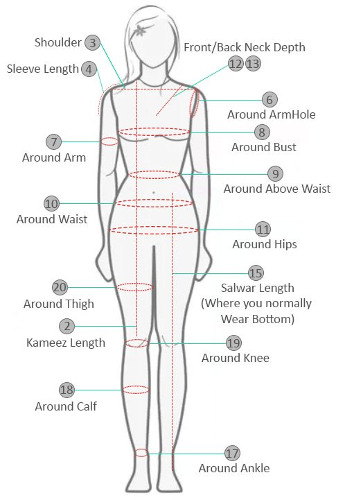 salwar-measurement